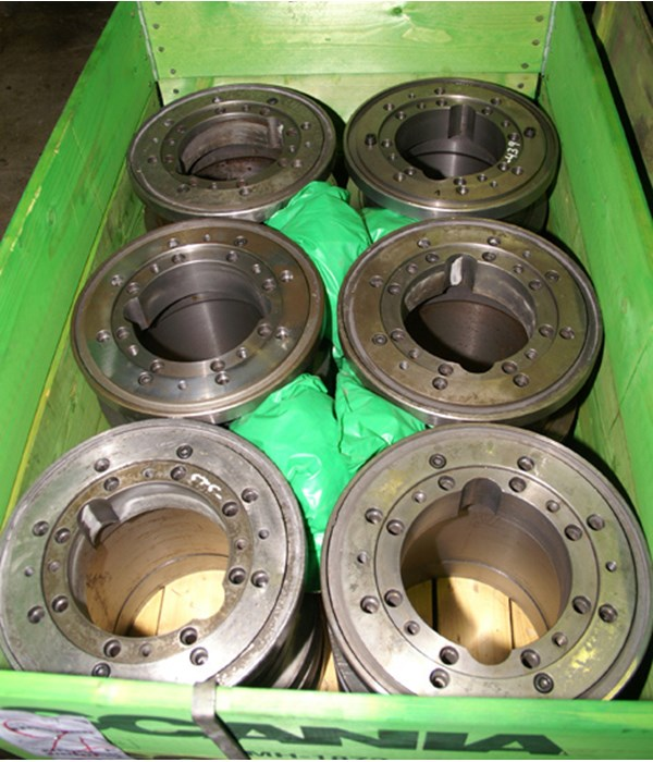 Lidkoping  spindle centers for CL 630-3